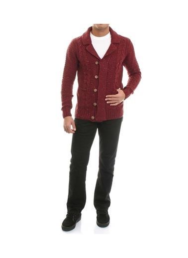 Jack & Jones Hırka Bordo